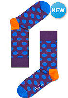 HAPPY SOCKS Socks Big Dot lila/blue