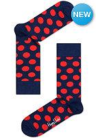 HAPPY SOCKS Socks Big Dot navy/red