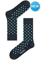 HAPPY SOCKS Socks Dots anthrazit/mint