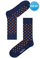 HAPPY SOCKS Socks Dots navy/orange
