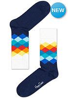 HAPPY SOCKS Socks Faded Diamond navy/multi