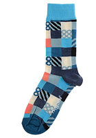 HAPPY SOCKS Socks Mini Square blue/white/multi