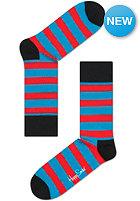 HAPPY SOCKS Socks Stripe blue/red/black