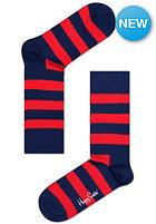 HAPPY SOCKS Socks Stripe navy/red