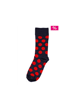 HAPPY SOCKS Womens Big Dot Socks 002
