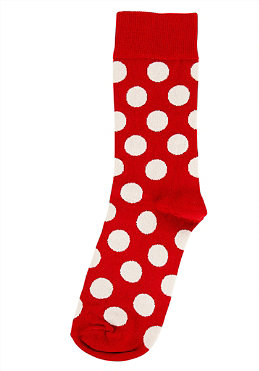 HAPPY SOCKS Womens Big Dot Socks 004