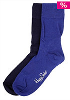 HAPPY SOCKS Womens One Colour Two Pack Socks 002