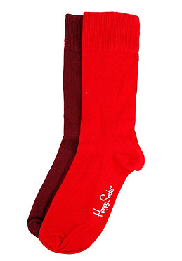 HAPPY SOCKS Womens One Colour Two Pack Socks 003