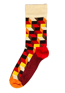 HAPPY SOCKS Womens Optic Socks 003