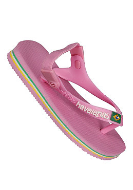 HAVAIANAS KIDS/ Baby Brasil Logo Sandals bubble gum rose