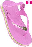 Kids Baby Brasil Logo Sandals rose