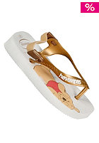 HAVAIANAS KIDS/ Baby Pooh Sandals white