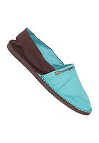 HAVAIANAS Origine Espadrille pool green/dark brown