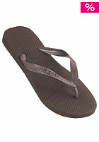 HAVAIANAS Top Metalic Sandal dark brown