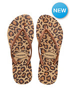 HAVAIANAS Womens Slim Animals beige