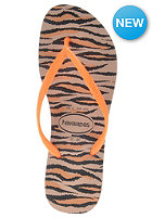 HAVAIANAS Womens Slim Animals Flou Sandal rose gold