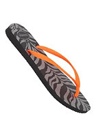 HAVAIANAS Womens Slim Animals Fluo Sandal black