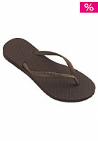 HAVAIANAS Womens Slim Sandal dark brown
