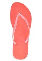 HAVAIANAS Womens Slim Sandal guava red