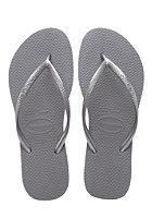 HAVAIANAS Womens Slim steel grey