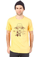 HEADLINE Hunter S. Giraffe S/S T-Shirt heather yellow