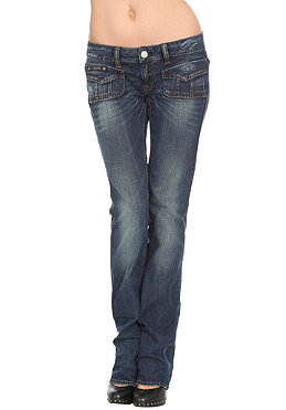 HERRLICHER Lou Pant denim stretch dusty