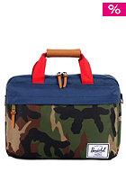 HERSCHEL SUPPLY CO Clark Messenger Bag woodland camo/navy/red