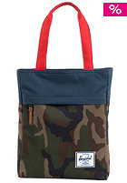 HERSCHEL SUPPLY CO Harvest Tote Bag woodland camo/navy/red