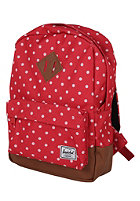 HERSCHEL SUPPLY CO Heritage Kids Backpack red polka dot