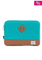HERSCHEL SUPPLY CO Heritage Sleeve for 15inch Macbook teal
