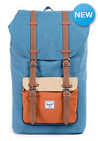 HERSCHEL SUPPLY CO Little America Backpack cadet blue/carrot/khaki/navy