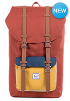 HERSCHEL SUPPLY CO Little America Backpack rust / cooper / navy/ khaki