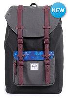 HERSCHEL SUPPLY CO Little America Mid-Volume Backpack black/kaleidoscope