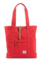 HERSCHEL SUPPLY CO Market Canvas Tote Bag red