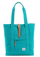 HERSCHEL SUPPLY CO Market Canvas Tote Bag teal