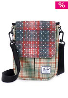 HERSCHEL SUPPLY CO Pender for iPad Mini rust plaid / polka dot/grey plaid