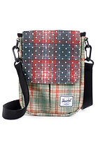 HERSCHEL SUPPLY CO Pender Sleeve for iPad Mini rust plaid / polka dot/grey plaid
