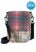 HERSCHEL SUPPLY CO Pender Sleeve for iPad Mini rust plaid / polka dot/grey plaid