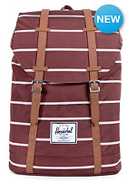 HERSCHEL SUPPLY CO Retreat Backpack rust stripe