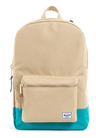 HERSCHEL SUPPLY CO Settlement Backpack khaki/teal