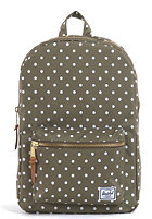 HERSCHEL SUPPLY CO Settlement Backpack olive polka dot