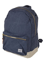 HERSCHEL SUPPLY CO Settlement Canvas Backpack washed navy/natural