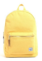 HERSCHEL SUPPLY CO Settlement Canvas Backpack washed yellow