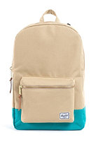 HERSCHEL SUPPLY CO Settlement Mid-Volume Backpack khaki/teal