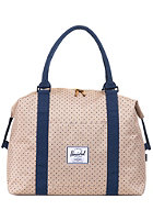 HERSCHEL SUPPLY CO Strand Duffle Bag khaki polka dot/navy