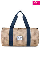Sutton Mid-Volume Duffle Bag khaki polka dot/navy