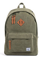 HERSCHEL SUPPLY CO Woodlands Canvas Backpack washed army