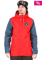 HOLDEN Coaches Jacket cardinal red/thunderbolt blue