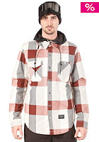 HOLDEN Tarquin Jacket bone plaid/black hood