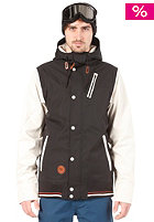 HOLDEN Varsity Jacket black/bone